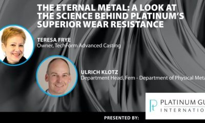 The Eternal Metal: A Look at The Science Behind Platinum's Superior Wear Resistance
