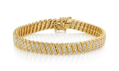 Diamond Tennis Bracelets and Necklaces That  Dress Up Your Wrist and Neck in Style