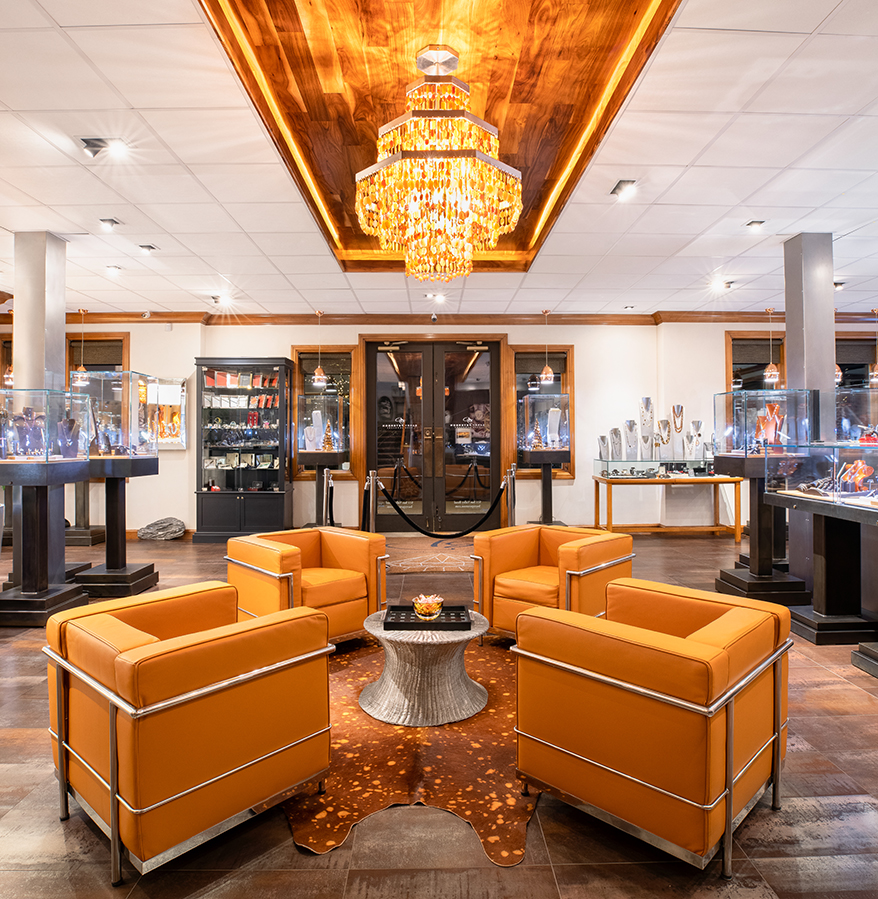 Barry Peterson Jewelers interior