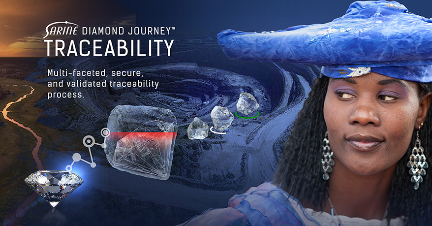 Diamonds With Sarine Diamond Journey Traceability Reports Now Easy to Filter and Search Online