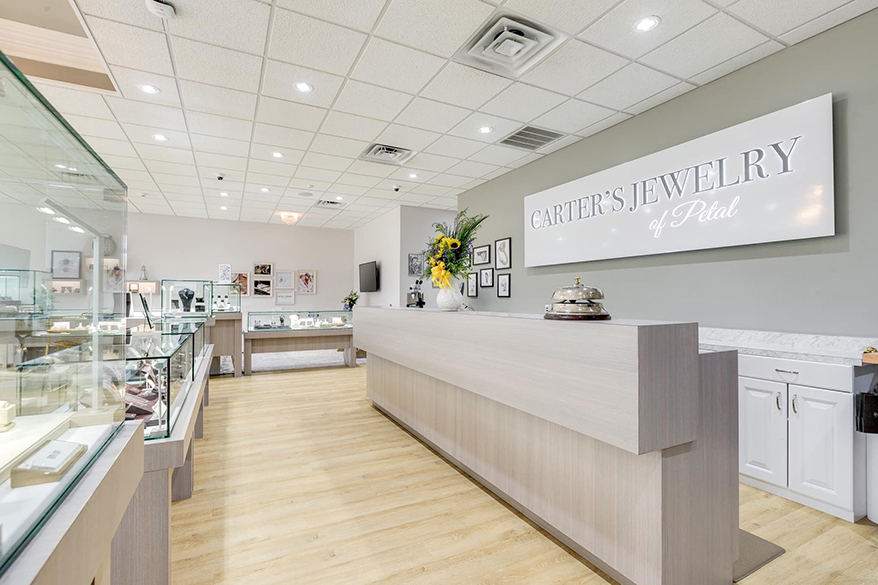 Carter's Jewelry of Petal interior