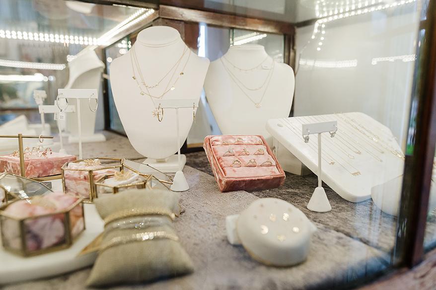 Katie Diamond Jewelry interior
