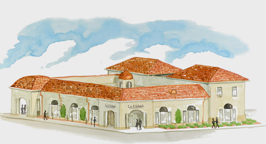 Lee Michaels Fine Jewelry Breaks Ground on Freestanding Location at Lakeside Shopping Center
