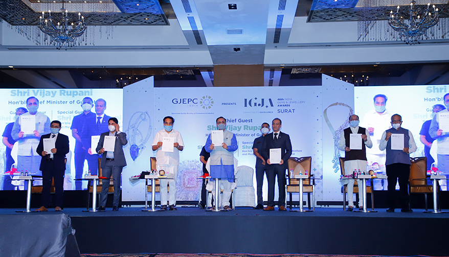 Chief Minister of Gujarat Inaugurates the 46th Edition of India Gem & Jewellery Awards