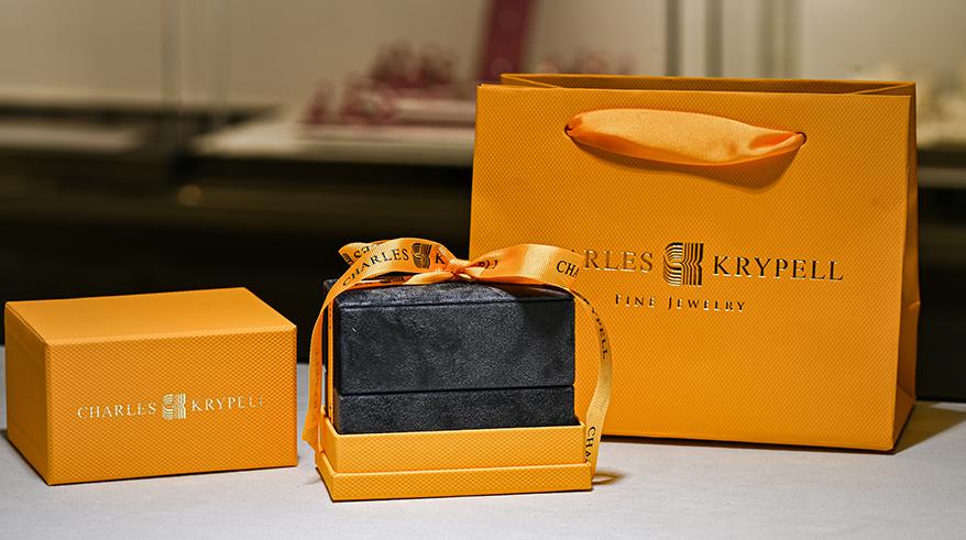 Charles Krypell's packaging