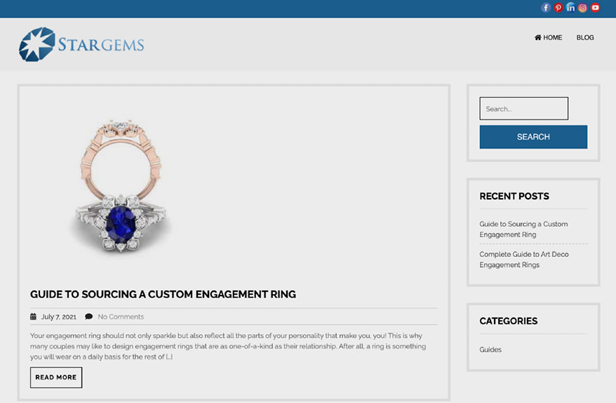 Star Gems Launches Insightful  Monthly Blog