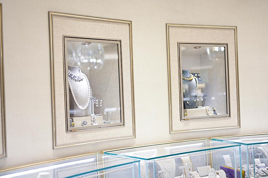 custom-built-recessed-wall-displays