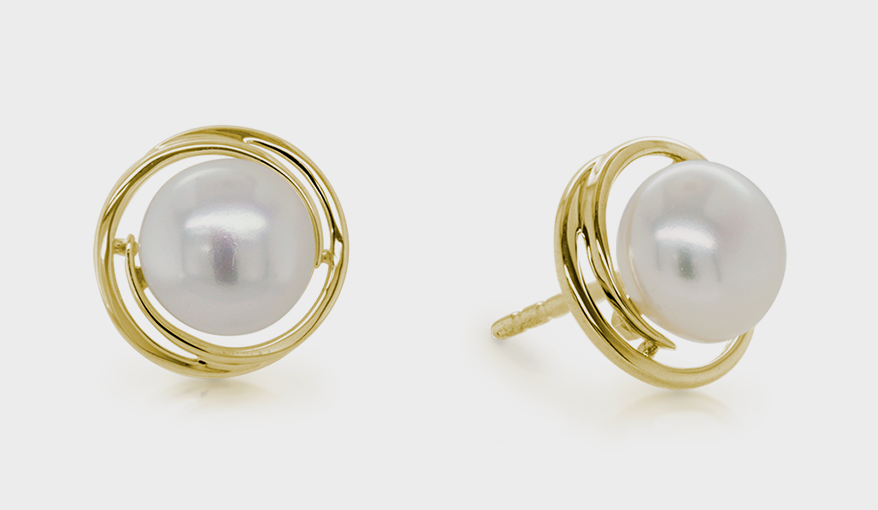 Artistry, Ltd. 14K yellow gold earrings