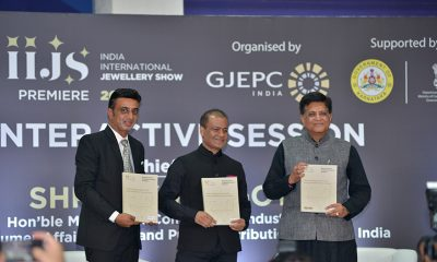 Commerce Minister Shri Piyush Goyal Hosted Interactive Session with Leading Manufacturers at the IIJS Premiere 2021
