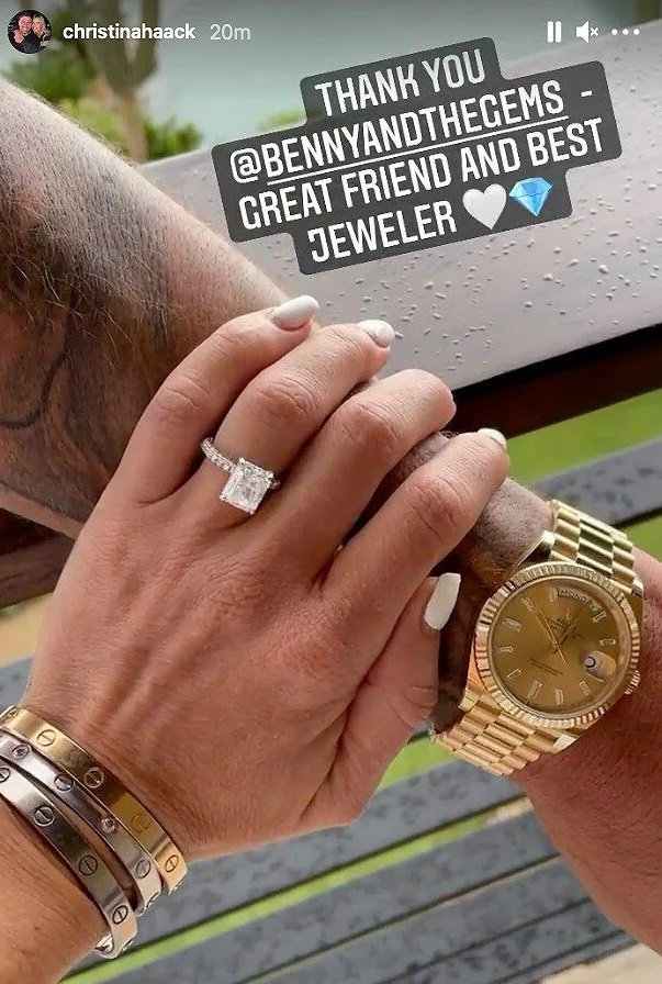 Christina Haack engaged