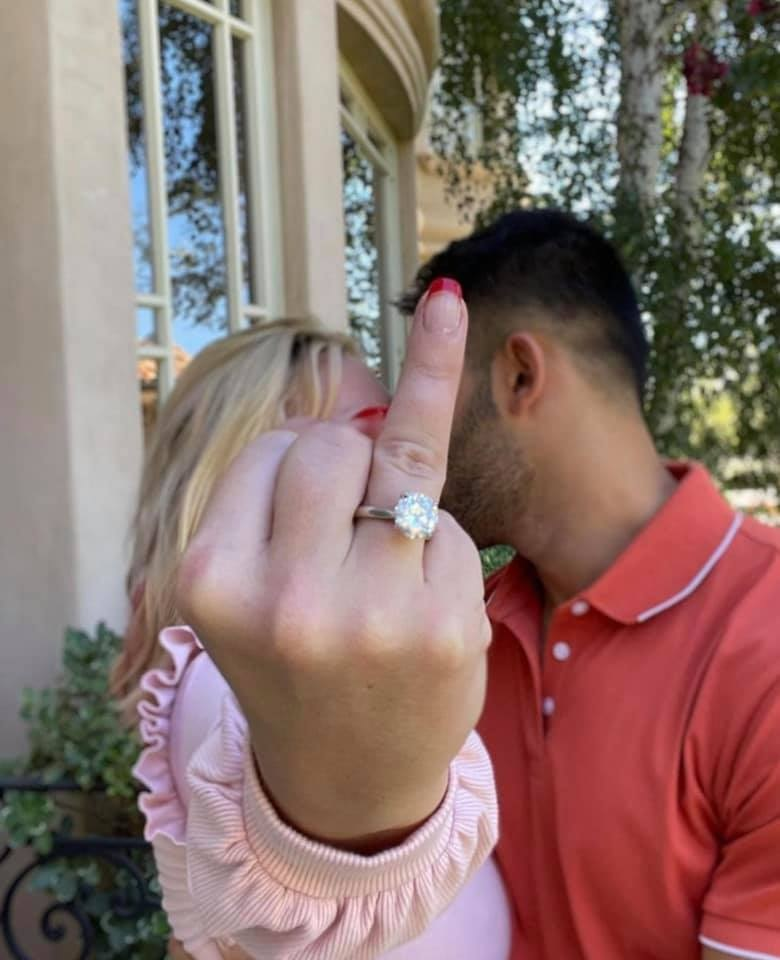 Spears Engagement Ring