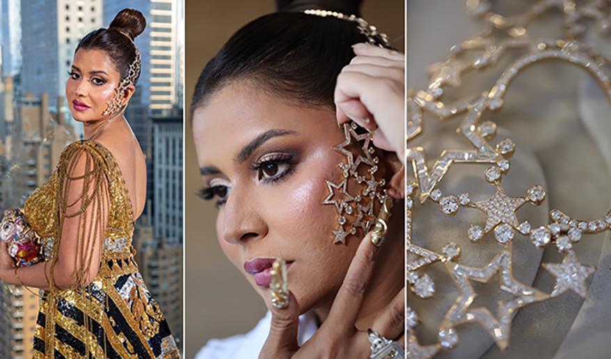 Socialite Sudha Reddy Wears Farah Khan Fine Jewellery to the MET Gala