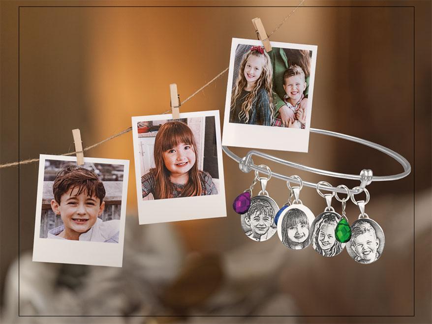 Kin & Pebble's Announces Its New Petite Photo Pendants