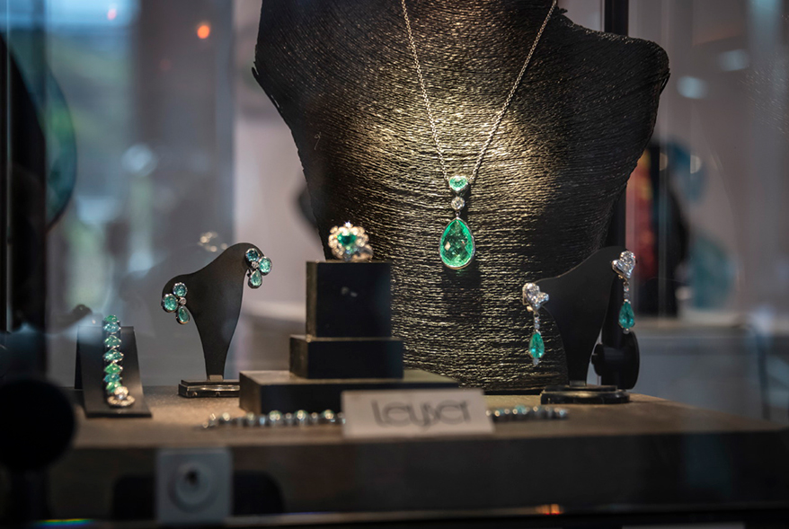 Paraiba jewellery, Thomas Leyser