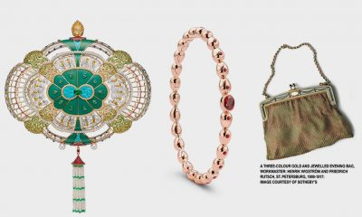 Fabergé featuring Gemfields One-of-a-Kind Majesty Clutch Bag