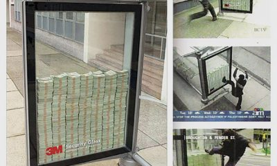 A Smash-And-Grab Hit from the Annuls of Guerrilla Marketing