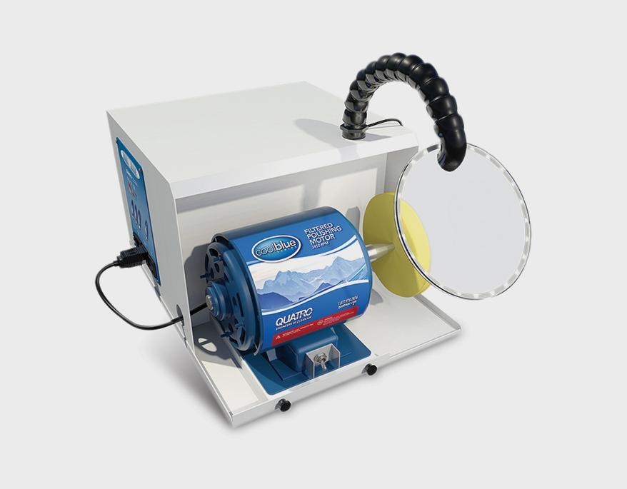 CB-1 single spindle desktop polisher