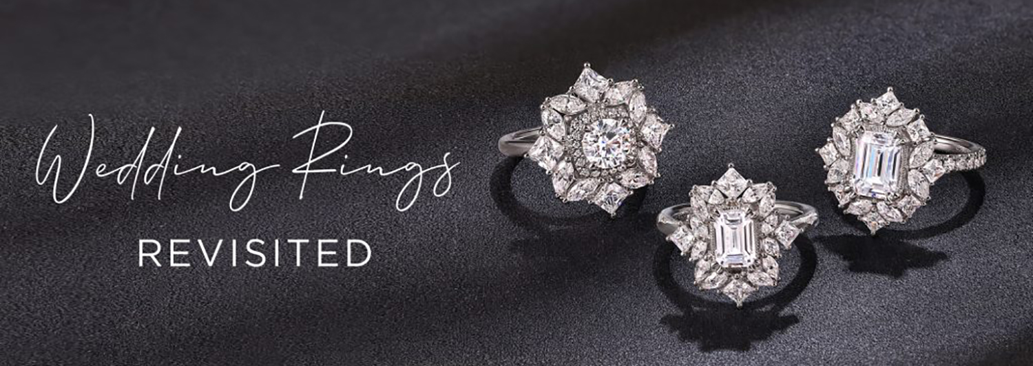Wedding Rings Revisited: Remount Styles To Refresh Your Ring