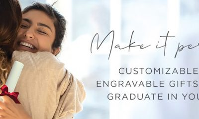 Make it Personal – Customizable and Engravable Gifts for The Graduate in Your Life.